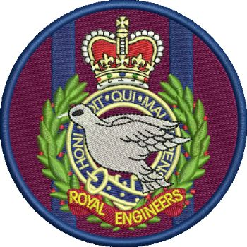 55 Training Sqn embroidered Badge